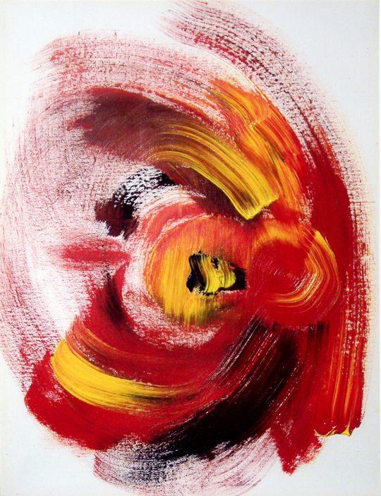 Zirkuspferd (Acryl) 2008