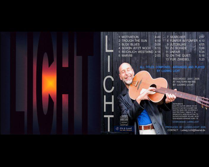 Cover und Rückseite von der Licht-CD