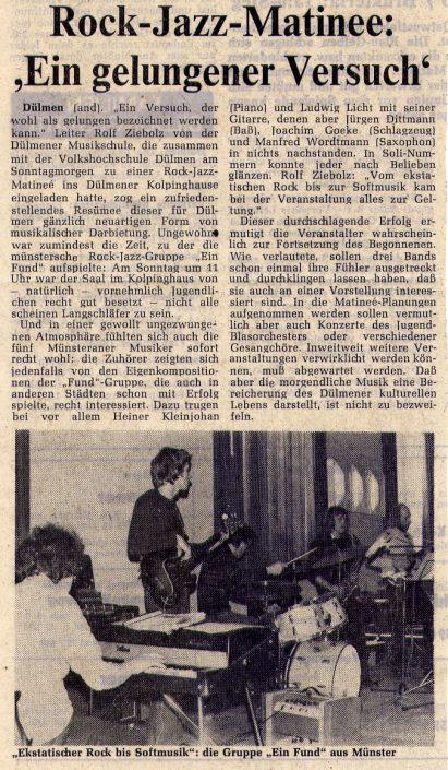 Duelmener Zeitung 15.03.1976