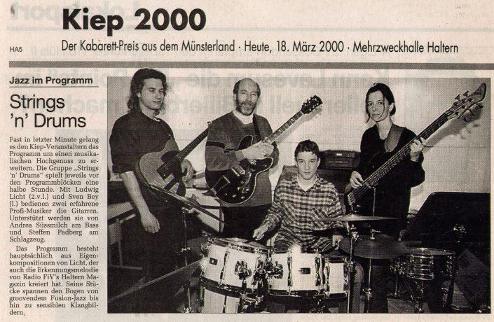 Ruhr-Nachrichten, 18.03.2000