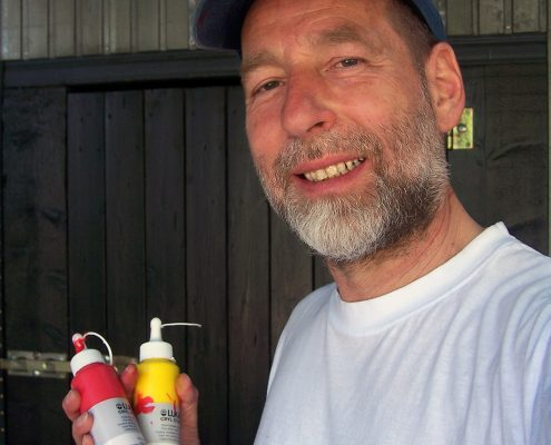 Der Maler Ludwig Licht