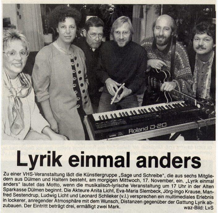 WAZ 16.11.1993