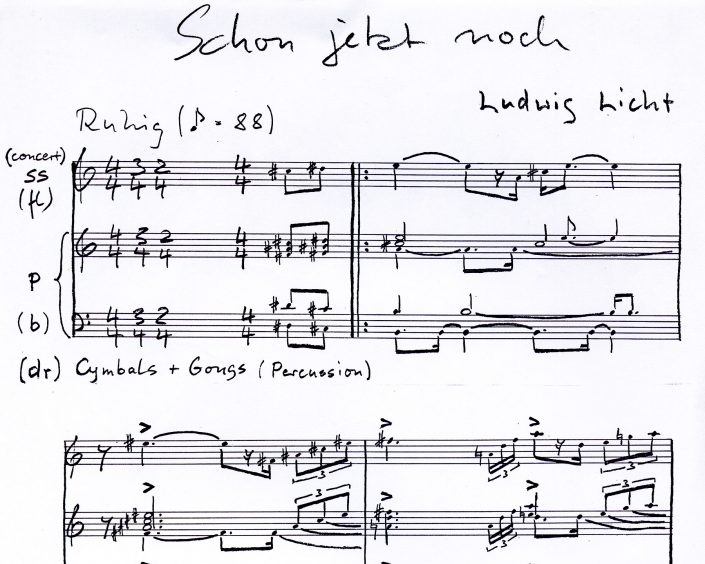 Komposition Ludwig Licht