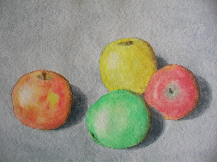 Äpfel (Aquarell) 1974