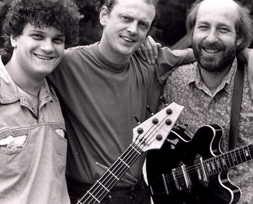 Trio Flutlicht mit Ludwig Licht