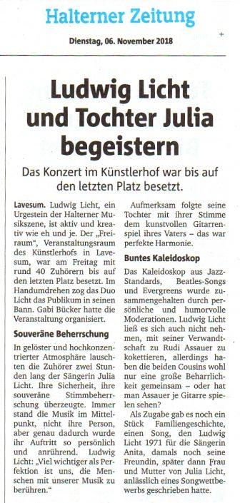 Ruhr Nachrichten 6. November 2018