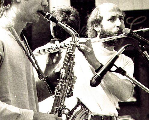 Jazz-Ensemble, Ludwig mit Querflöte