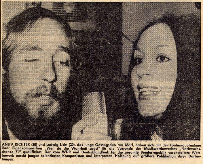 Marler Zeitung 24.02.1971
