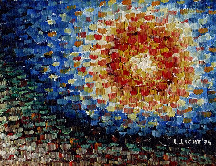 Pointiert (Oel) 1974