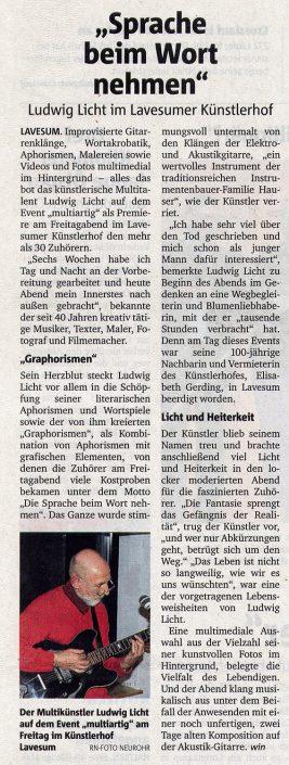 Artikel Ruhr-Nachrichren, 06.02.2017