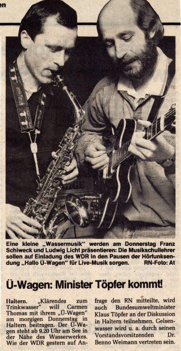 Ruhr-Nachrichten 09.03.1988