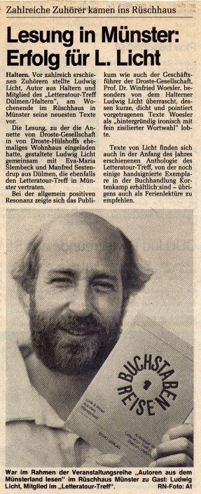 Ruhr-Nachrichten 12.07.1988