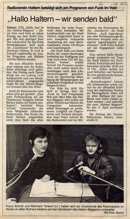 Ruhr-Nachrichten, 23.03.1991