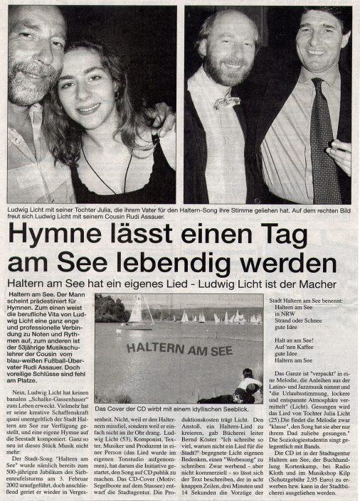 Stadtspiegel Haltern 24.09.2003