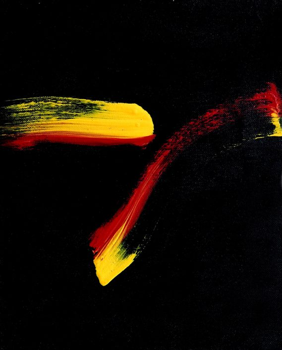Vermeidung (Acryl) 2009