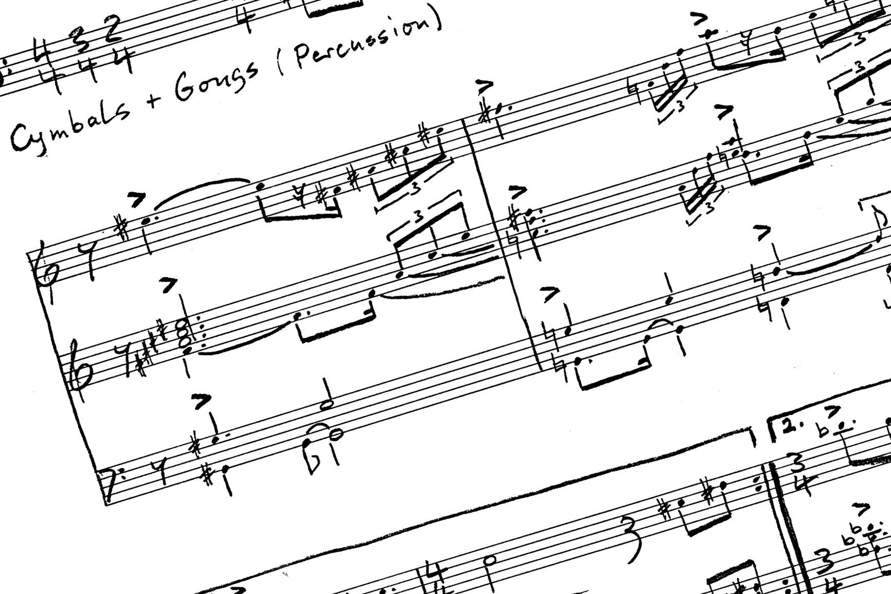 (Auftrags-) Komposition von Ludwig Licht